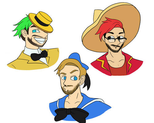 The Three *cough*YouTuber*cough* Caballeros