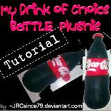 CokeBottle Plushie Tutorial by JRCsince79