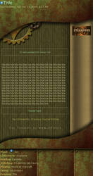 Steampunk CSS Journal by Hairac