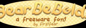 Font - BearBeBold