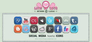 Pixel - Social Media Icons