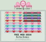 Pixel - Small Bow Divider