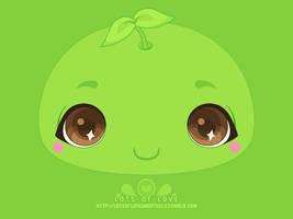 WP - Bright Eye GreenChief by firstfear
