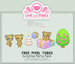 Pixel - Surprise Party Tube Pack