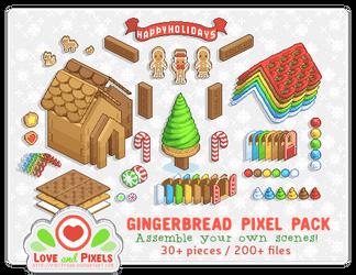 PixelPack - Gingerbread Village