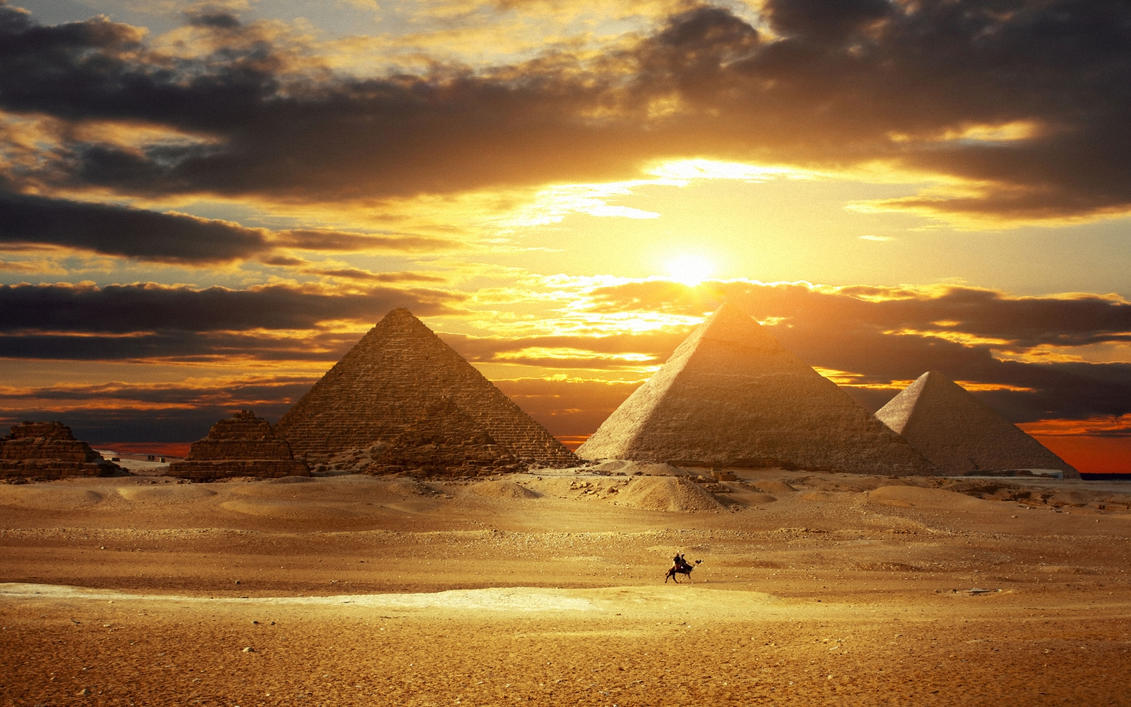 Pyramids Wallpaper HD by JackXan