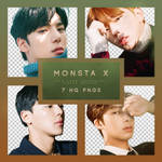 MONSTA X THE CODE: PROTOCOL Png pack