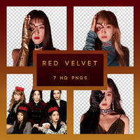 RED VELVET PERFECT VELVET Png pack by RoxyNeonColors