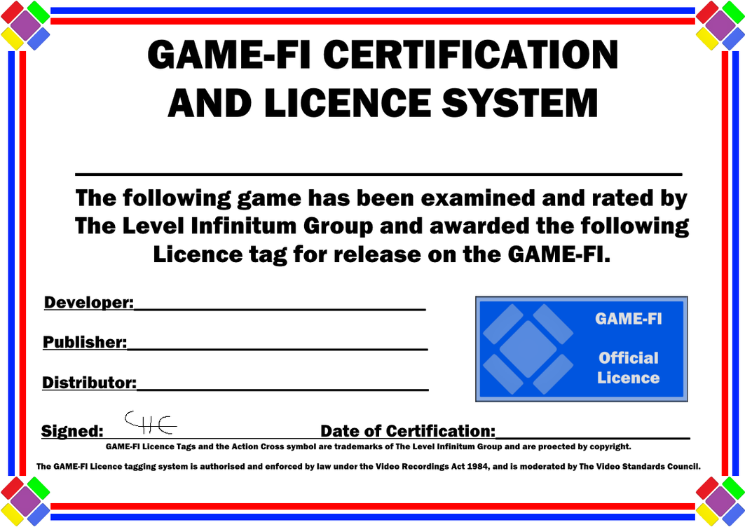 Game fi licence certificate templates by levelinfinitum on deviantart game fi licence certificate templates by levelinfinitum 1betcityfo Choice Image