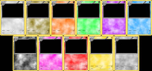 Pokemon Blank Card Templates - Stage 2