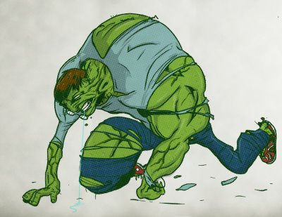 The Incredible Hulk Nightmare 7 by LevelInfinitum