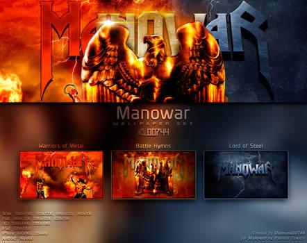 Manowar Wallpaper Set