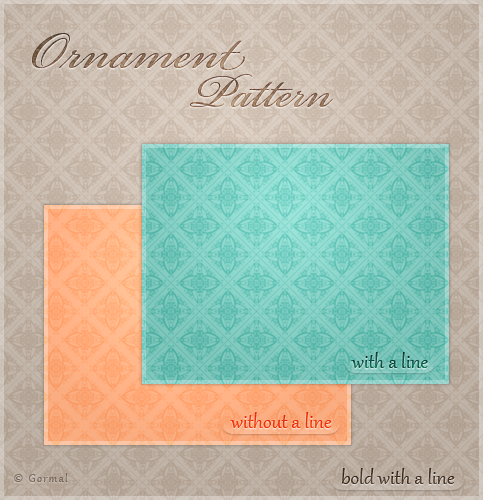Ornament Pattern by Gormal