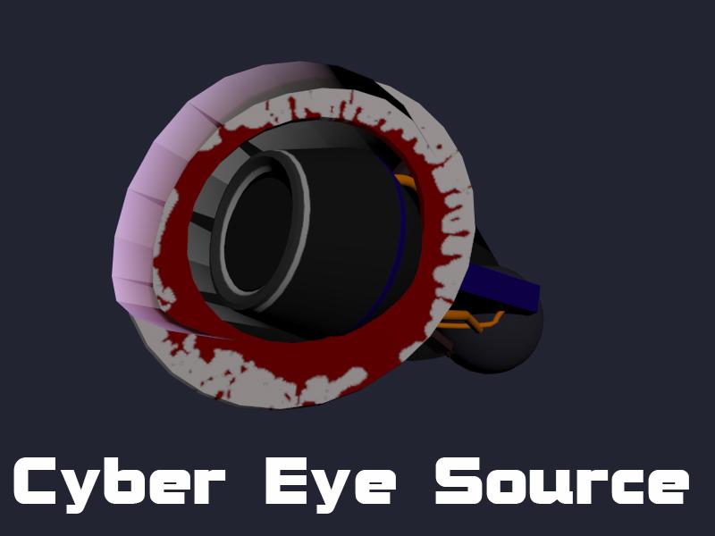 Pony Cyber Eye Source Files by Optimus97