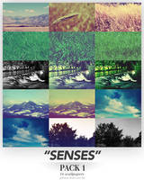 Senses - Wallpaper Pack 1 by requestedRerun