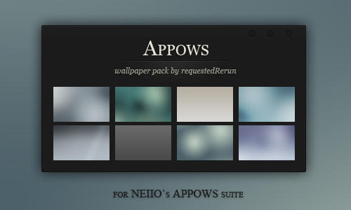 APPOWS2010 Walls by requestedRerun