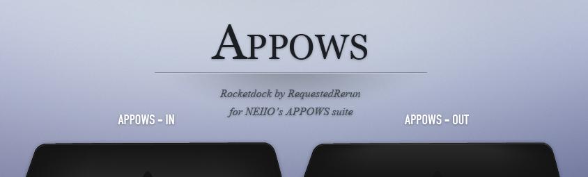APPOWS2010 Rocketdock
