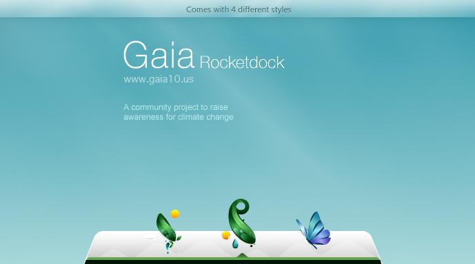 Gaia10 Rocketdock by requestedRerun