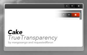 Cake TrueTransparency by requestedRerun