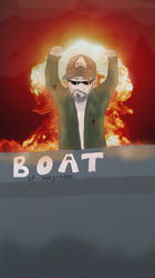 Contest: METAL GEAR KENNY GUARDIAN OF THE BOAT by ZoeDraws