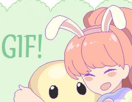 Happy Easter! GIF by Sunnypoppy