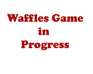 Waffles Flash game in progress