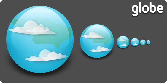 Globe Icon by Islingt0ner