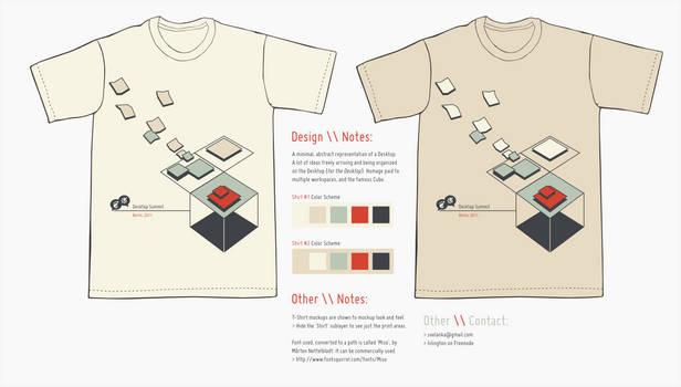 Desktop Summit T-Shirt Entry