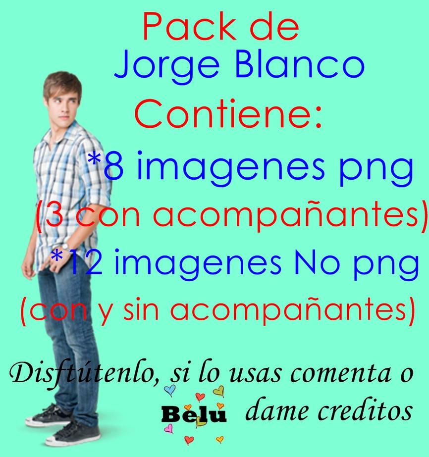 Pack De Jorge Blanco By Belu Editions by Belucapatop