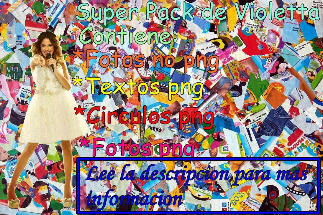 Super pack de Violetta by Belucapatop