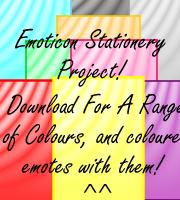 Emoticon Stationery Project by Yoshizzer
