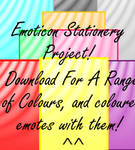 Emoticon Stationery Project