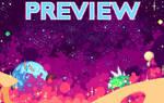 Space pixel art animation || Animacion pixel art by RawayjuDraws