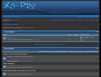 Xs-Pro Skin for I.P.Board by GilfordArt