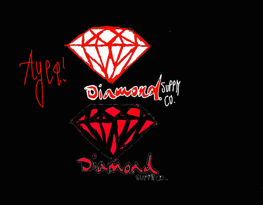 diamond supply co logo drawings pictures to pin on