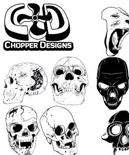 ChopperDesign's Skull Set by choppre