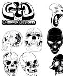 ChopperDesign's Skull Set
