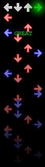 DDR Arrows