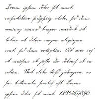 18th century handwriting font by Jantiff-Stocks