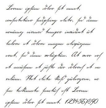 18th century handwriting font by Jantiff-Stocks