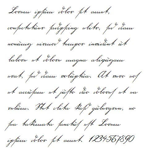 18th Century Handwriting Font By Jantiff Stocks