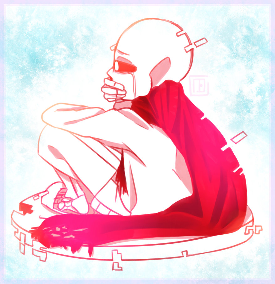 Aftertale Sans x *Shy/Distant* Reader- Its Over by Skull