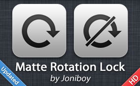 Matte Rotation Lock by jonarific