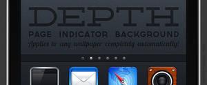 Depth: Page Indicator background