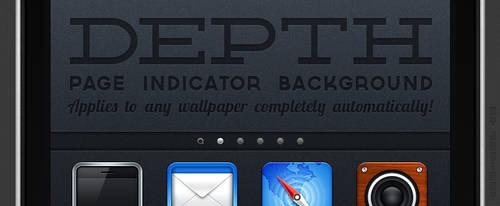 Depth: Page Indicator background by jonarific