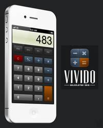 Vivido Calculator Skin by jonarific