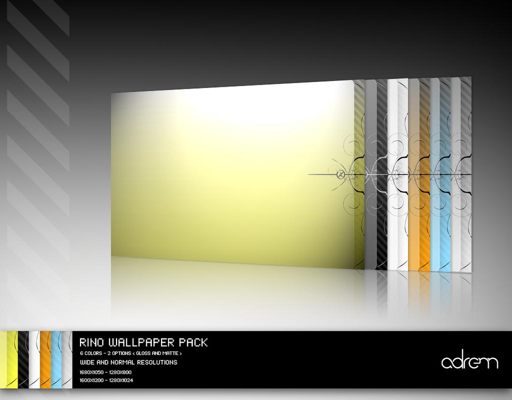 Rino Wallpaper Pack by adrenn