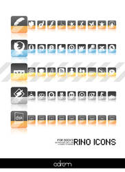 Rino Icons for Docks by adrenn