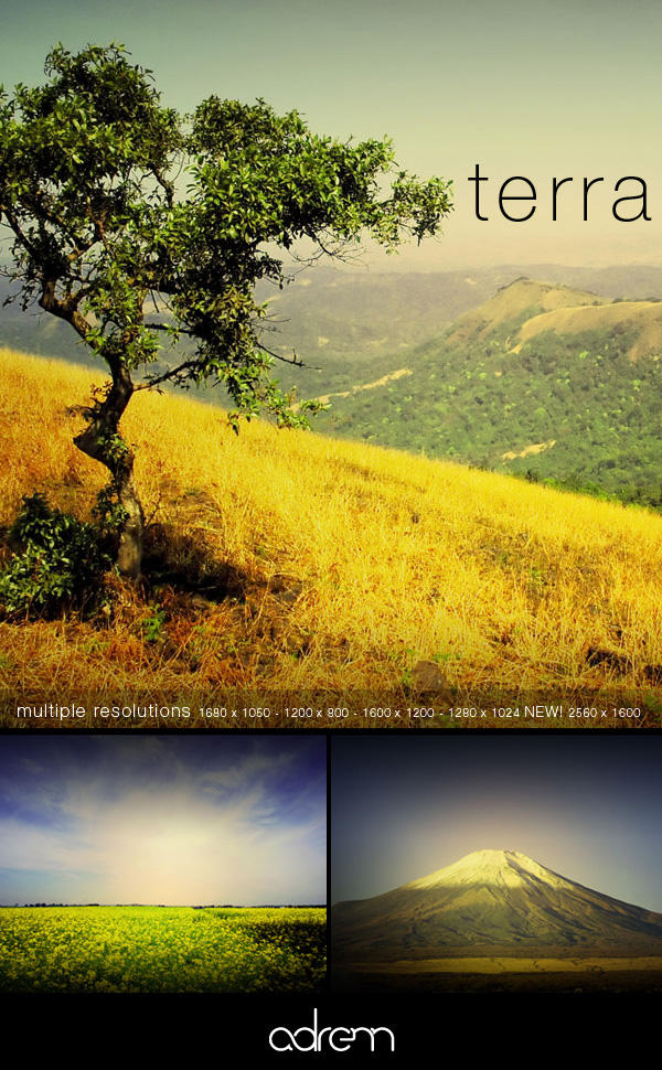 Terra - wallpaper pack by adrenn