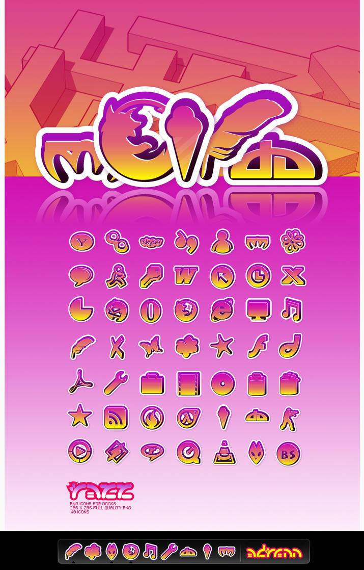 Razz icons for docks by adrenn